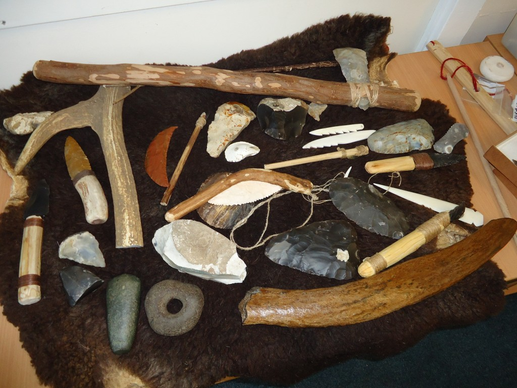 Stone Age Workshop Year 4 029 – Cumnor C of E Primary School