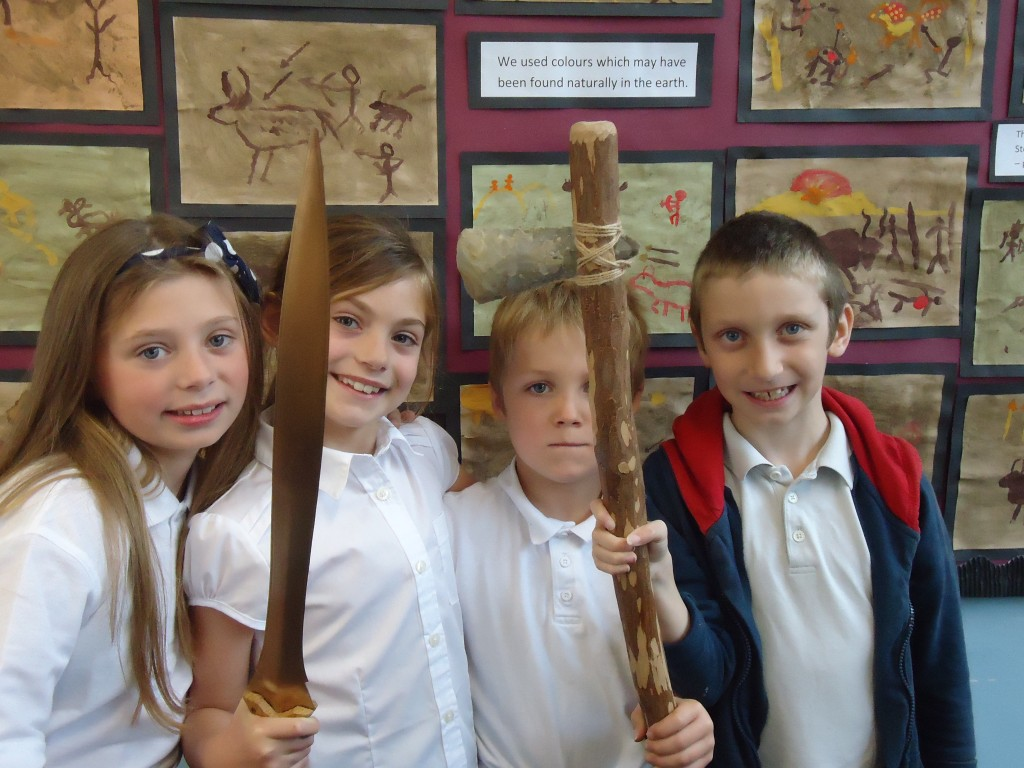 Stone Age Workshop Year 4 037 – Cumnor C of E Primary School