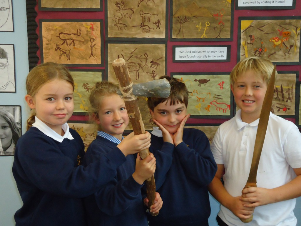 Stone Age Workshop Year 4 039 – Cumnor C of E Primary School