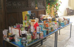 Harvest donations