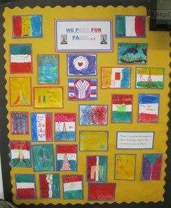 Year 6 thoughts following the terrorist attacks in Paris